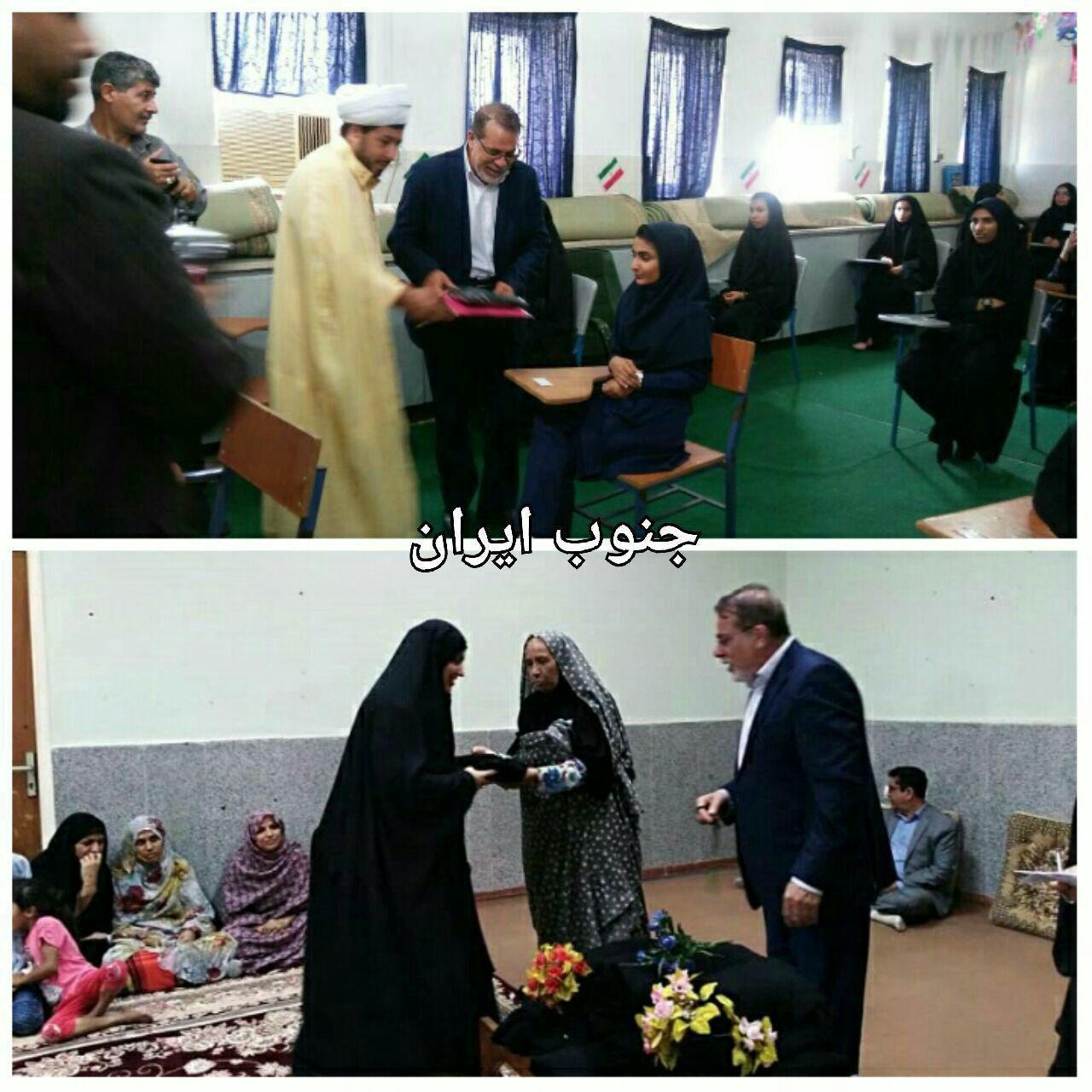 وزیر کشور برای اهالی جزیره ابوموسی هدیه فرستاد (عکس)