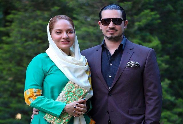 مهناز افشار و همسرش (عکس)