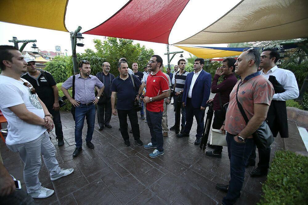 بازدید خبرنگاران رسانههای خارجی از منطقه آزاد کیش
