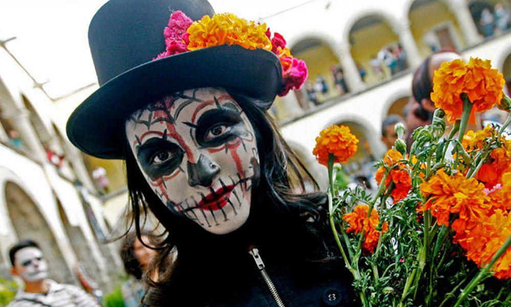 برگزاری «روز مردگان» در مسکو خبرساز شد (+عکس)