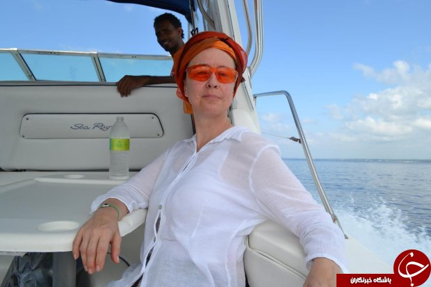 نجات معجزه آسای زن توریست پس از 21 ساعت شناور بودن در دریا! (+عکس)