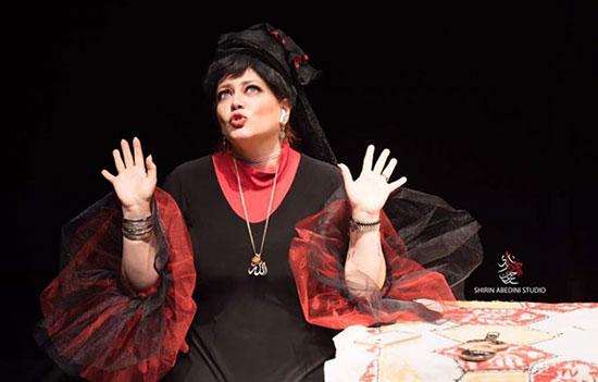 گریم بهاره رهنما برای نمایش جدیدش (عکس)