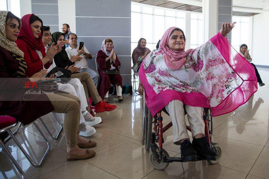 فشن شوی معلولان در تهران (عکس)
