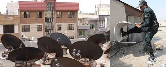 از ماهواره تا فیلترشکن: شما یا «مجرم» هستید یا در میان دهها میلیون مجرم زندگی می کنید!