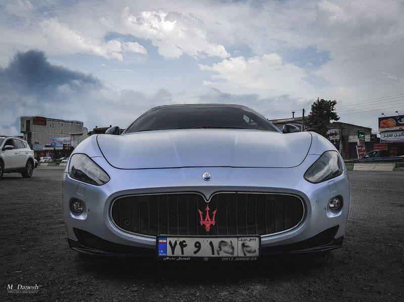 خودروی لوکس ایتالیایی در ایران (عکس)