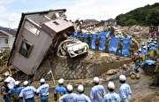 تصاویر دیده نشده از سیل ژاپن (+فیلم)