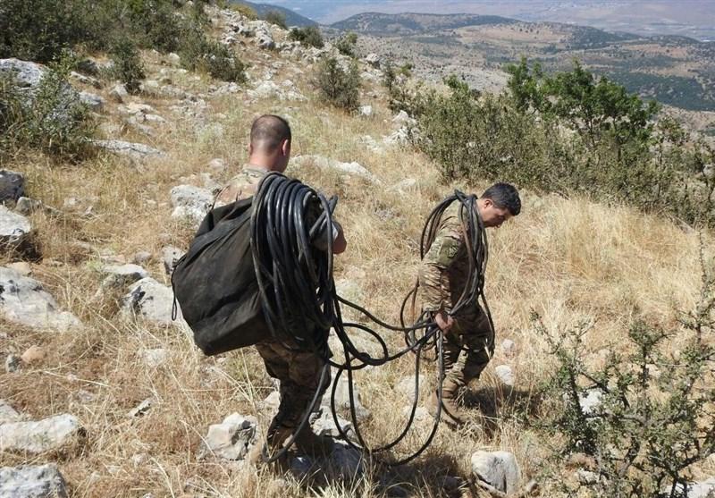 کشف سامانه جاسوسی رژیم صهیونیستی در جنوب لبنان (+عکس)