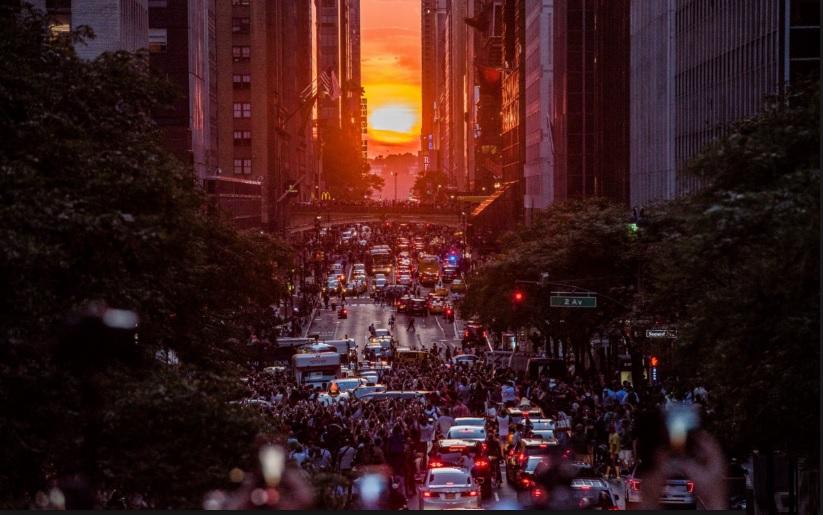 صحنهای دیدنی در نیویورک (عکس)