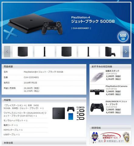 معرفی مدل جدید کنسول PS4