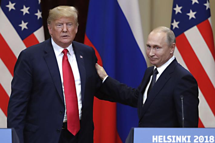 ترامپ زیر فشار حرفهایش را عوض کرد: روسیه در انتخابات مداخله کرده!