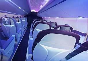کابین لاکچری هواپیمایی تازه تاسیس (+عکس)