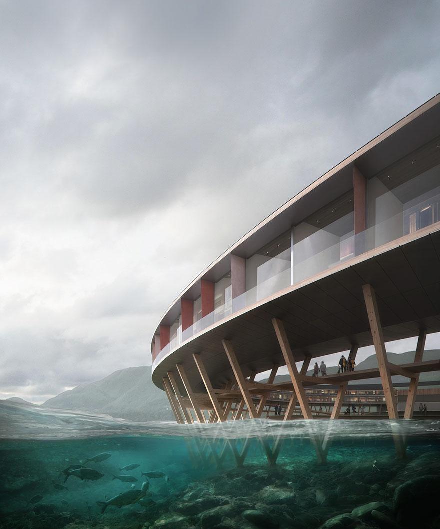 هتل «SVART» سازگارترین هتل با محیط زیست (+عکس)