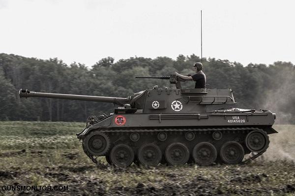 سریع ترین تانک آمریکایی در جاده! (+تصاویر)