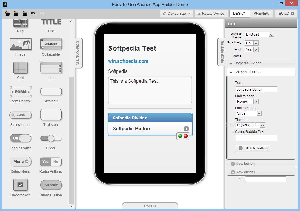 نرم افزار ساخت سریع و آسان اپلیکیشن موبایل