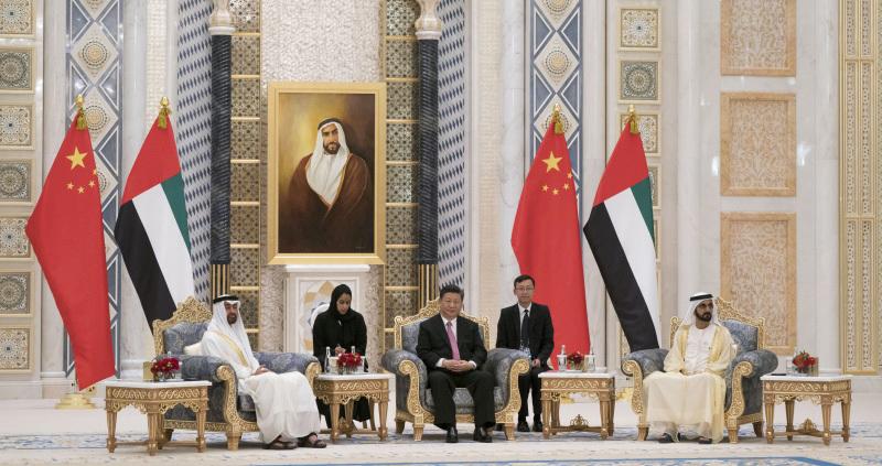 توافق امارات و چین برای