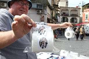 فروش دستمال توالت با طرح یوونتوس و رونالدو! (عکس)
