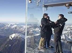 اتاقک شیشهای کوه آلپ (+عکس)