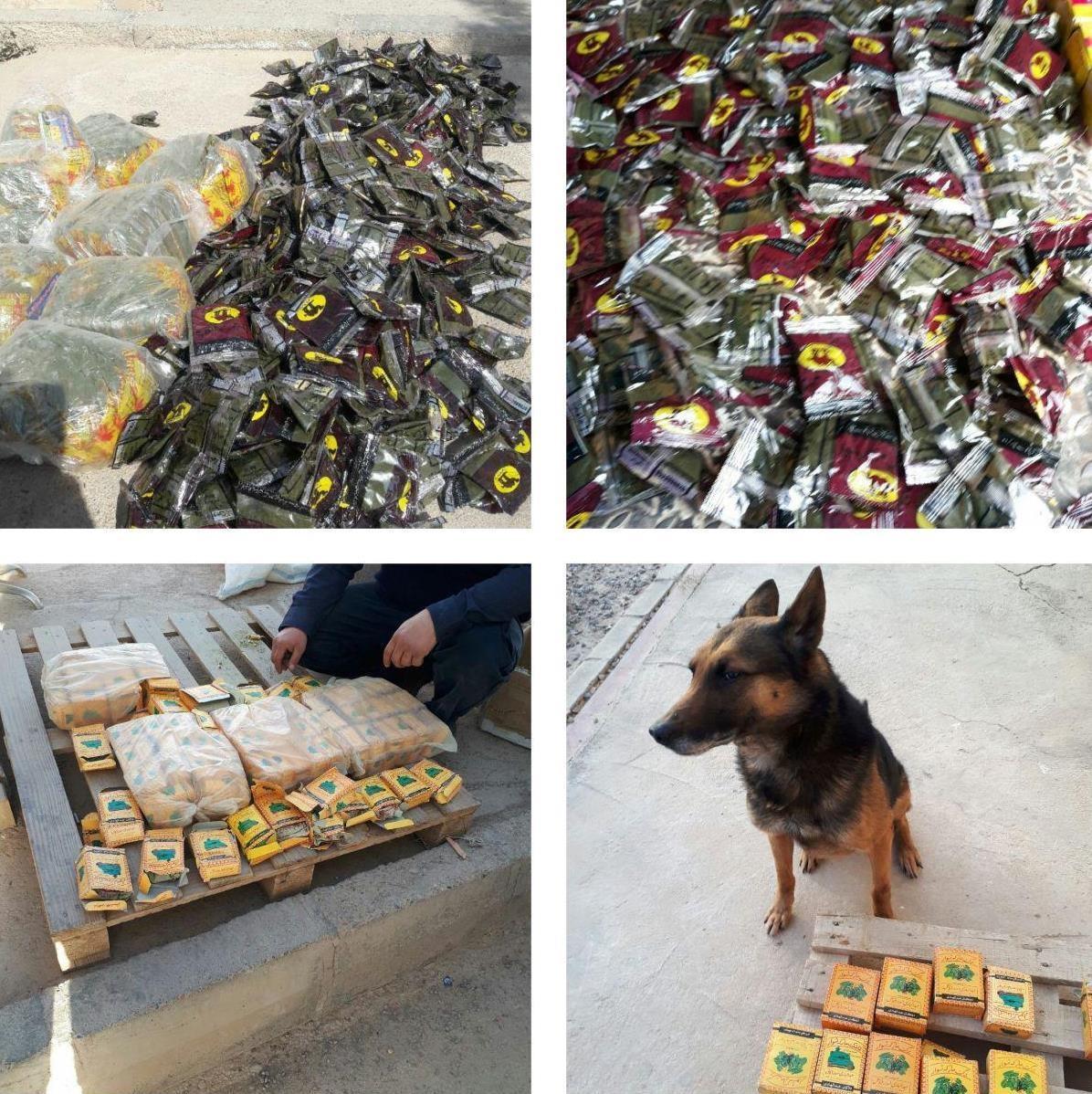 کشف 13 کیلوگرم مخدر خطرناک «پان» در مرز افغانستان (عکس)