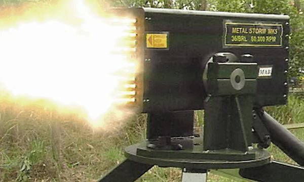 سریع ترین اسلحه جهان و شلیک میلیون گلوله در دقیقه!(فیلم)