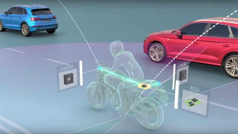 فناوری ایمنی تشخیص 360 درجه برای موتورها