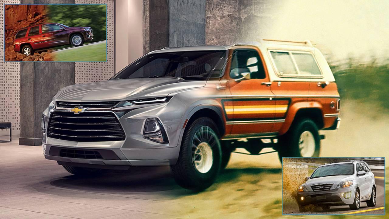 این SUV ها به کراس تبدیل شدند/گزارش تصویری