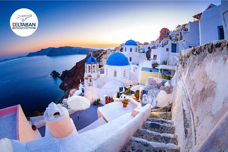 با شکوه ترین و زیبا ترین جزیره یونان (اطلاع رسانی تبلیغی)