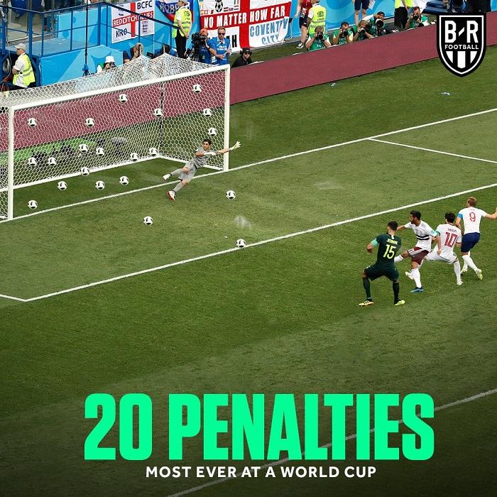 جام جهانی 2018، پر پنالتیترین جامهای جهانی  (عکس)