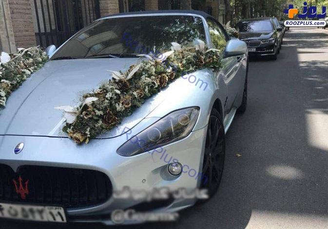 ماشین عروس چند میلیاردی در تهران! (عکس)