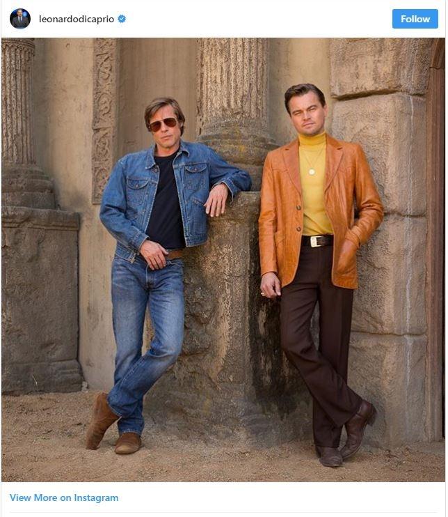 لئوناردو دیکاپریو و برد پیت در فیلم جدید تارانتینو (عکس)