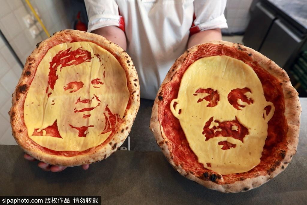 چهره سرمربی تیم ملی روی پیتزا (عکس)