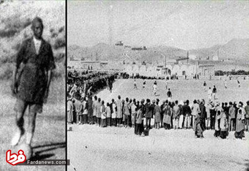 اولین مسابقه فوتبال در دوره قاجار (عکس)
