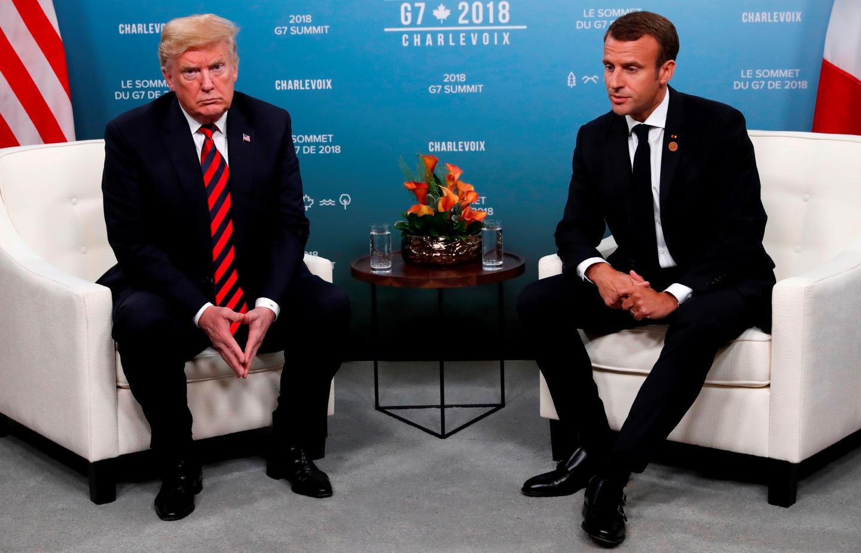 توصيه ترامپ به رييس جمهوري فرانسه براي خروج از اتحاديه اروپا