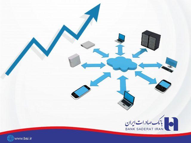 رشد 222 درصدی تراکنش درگاه های اینترنتی بانک صادرات