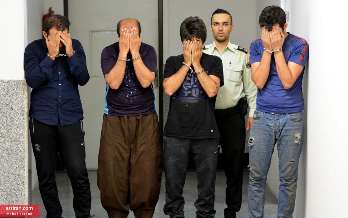 دستگیری سارقان مسلح خیابان دولت تهران