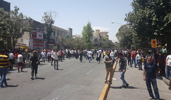 گزارش میدانی خبرگزاری فارس از تجمع شیرازیها در اعتراض به گرانی