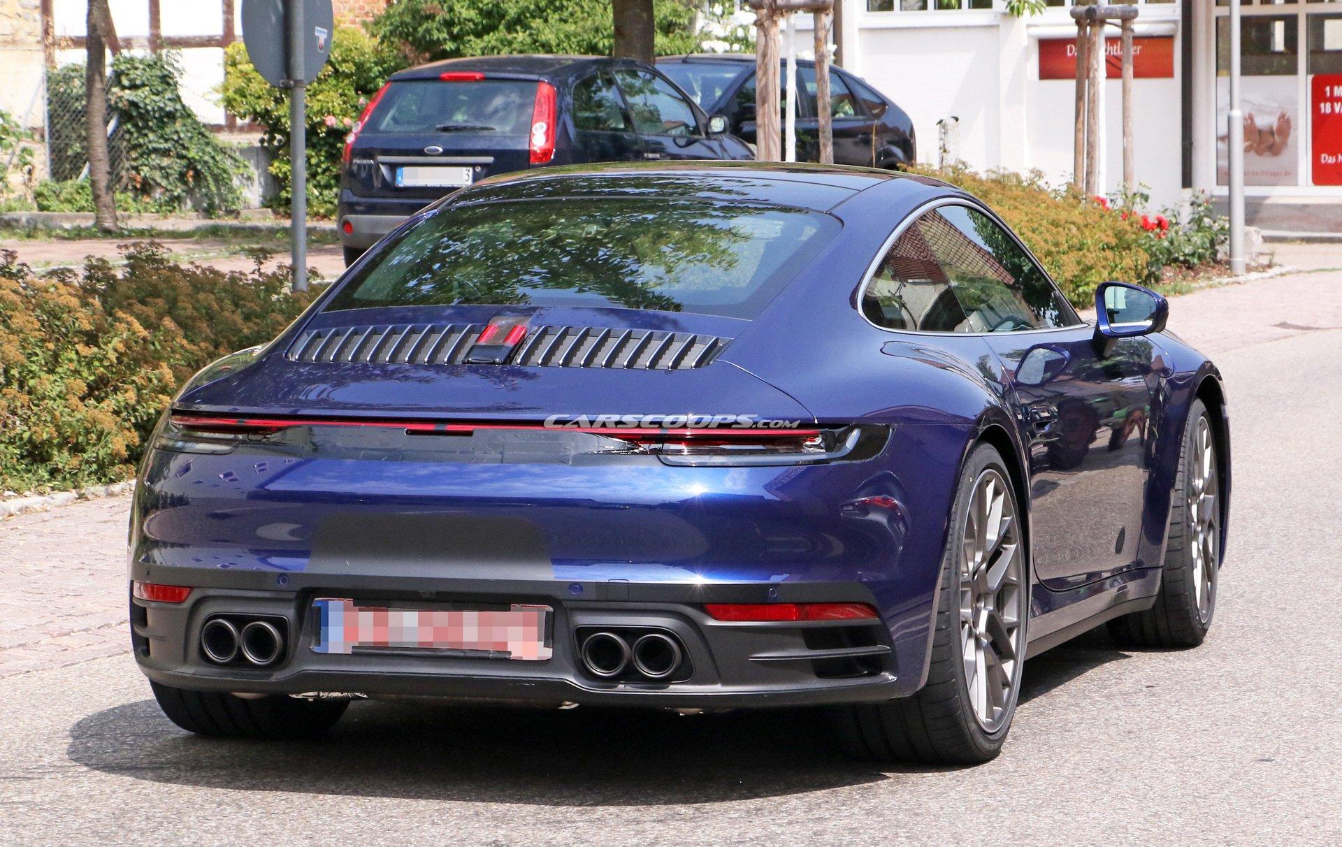 اتمام دوره حدس زدنها در مورد پورشه 911/ مدل 2020 خودرو را  بدون استتار ببینید
