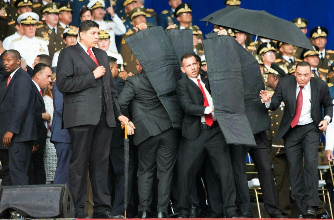 ترور ناموفق رئیس جمهوری ونزوئلا