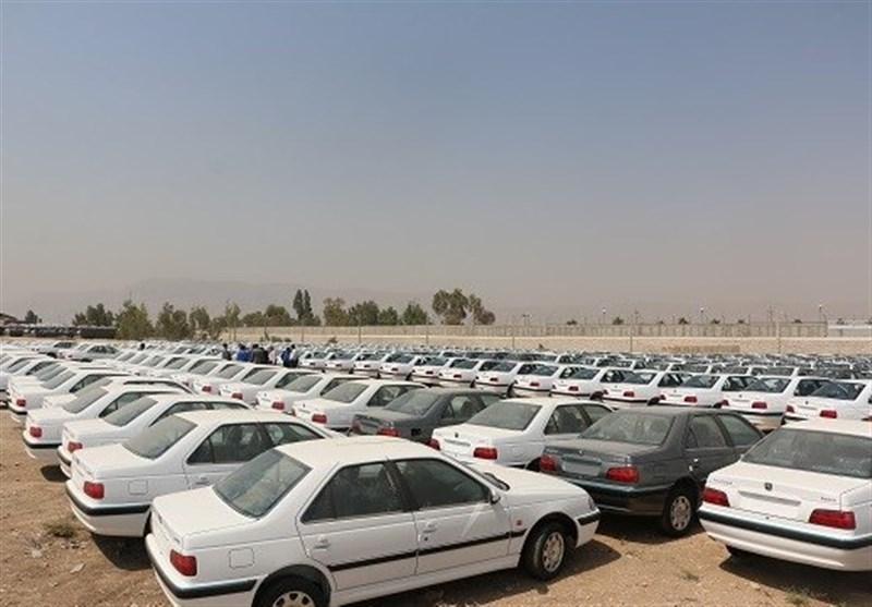 اختفای ۱۹۰۰ خودرو در انبار ایران خودروی شیراز (+عکس)