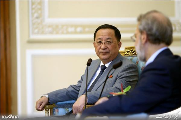 وزیر خارجه کره شمالی به لاریجانی: توسعه اقتصادی کره شمالی، دلیل مذاکره با آمریکا