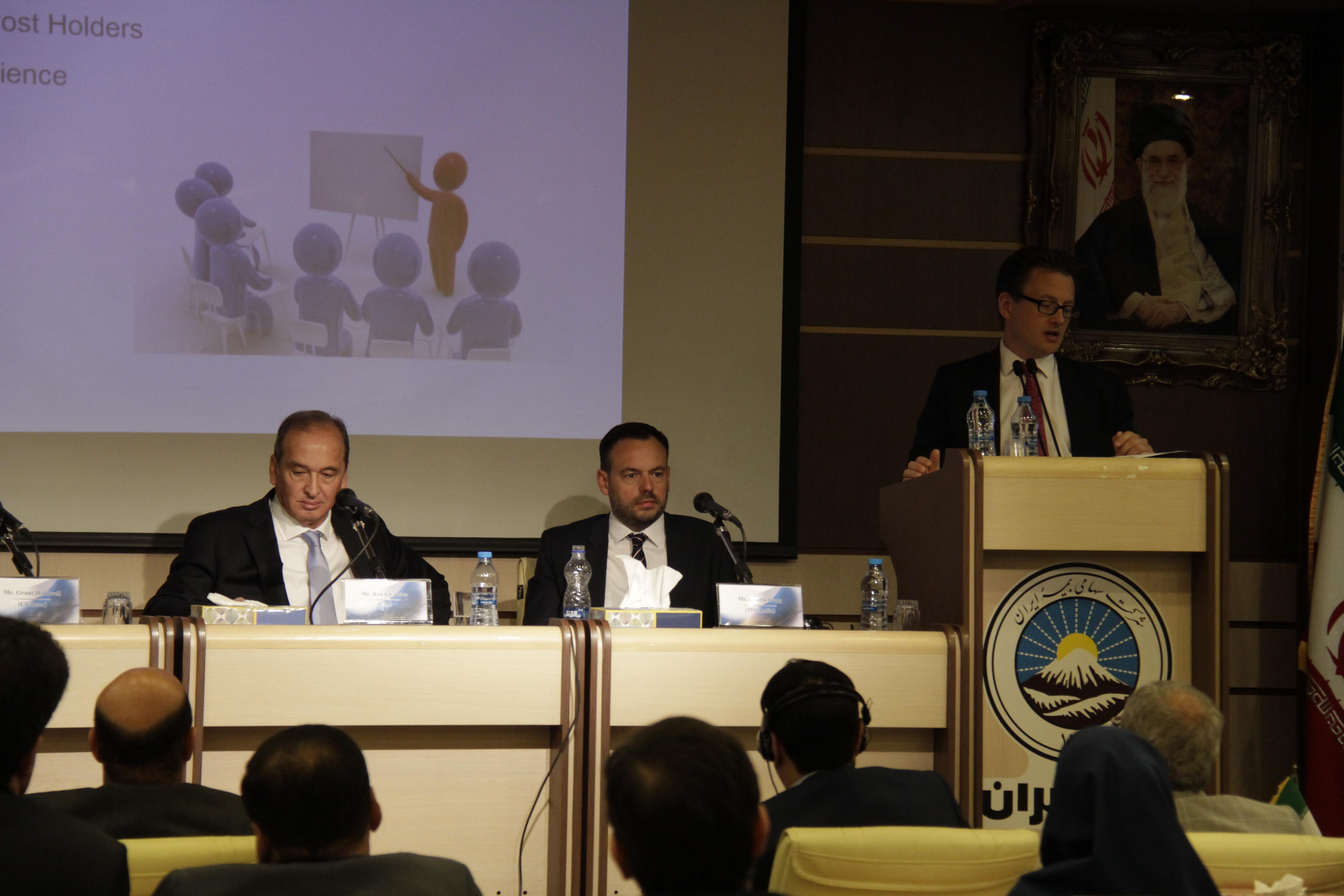 برگزاری کارگاه آموزشی بیمه هوایی در بیمه ایران