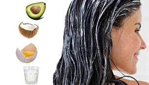 آموزش ساخت ماسک خانگی، برای داشتن موهای خوش حالت