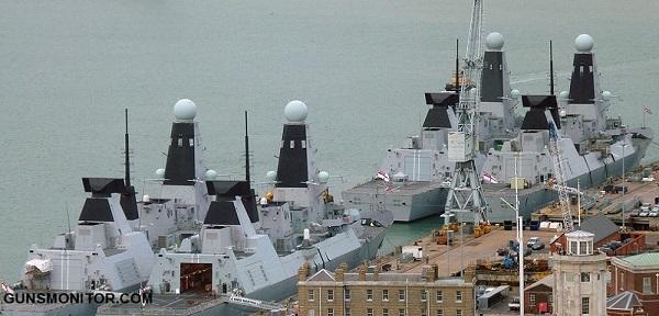 آشنایی با کلاس D نیروی دریایی بریتانیا (+تصاویر)