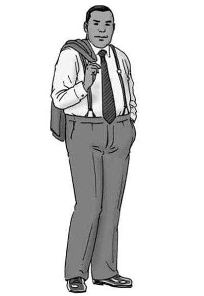 ترفندهای شیک پوشی برای آقایان چاق