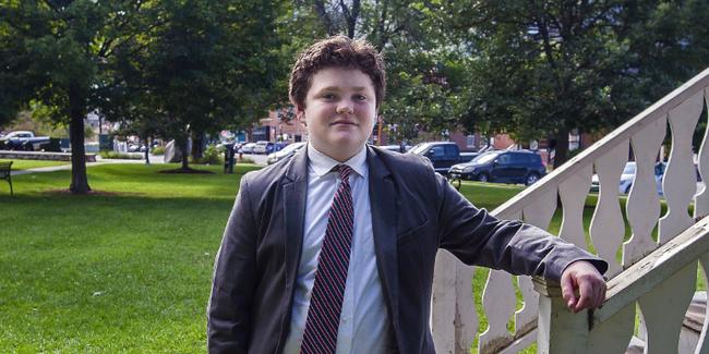 نوجوان 14 ساله نامزد انتخابات فرمانداری آمریکا(+عکس)