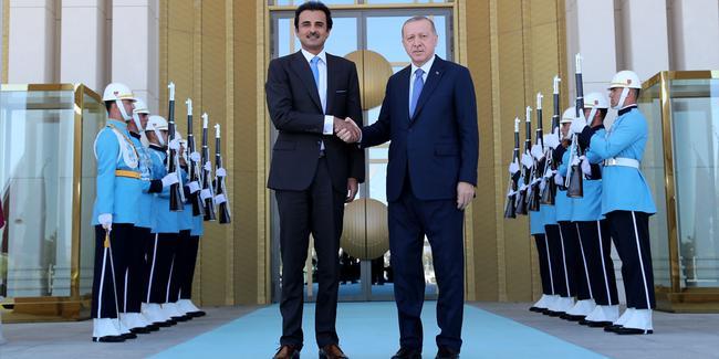 قطر به داد ترکیه رسید/ ارزش لیر صعودی شد