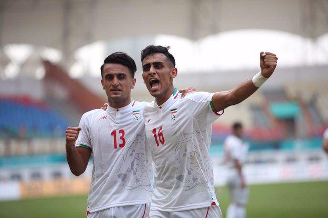 پیروزی ۳ بر صفر تیم فوتبال امید ایران مقابل کره شمالی