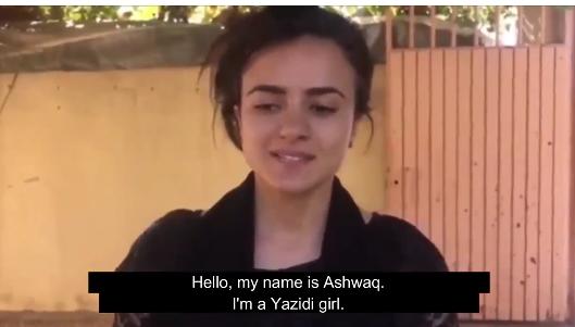 دیدار تصادفی دختر عراقی و خریدار داعشی در آلمان