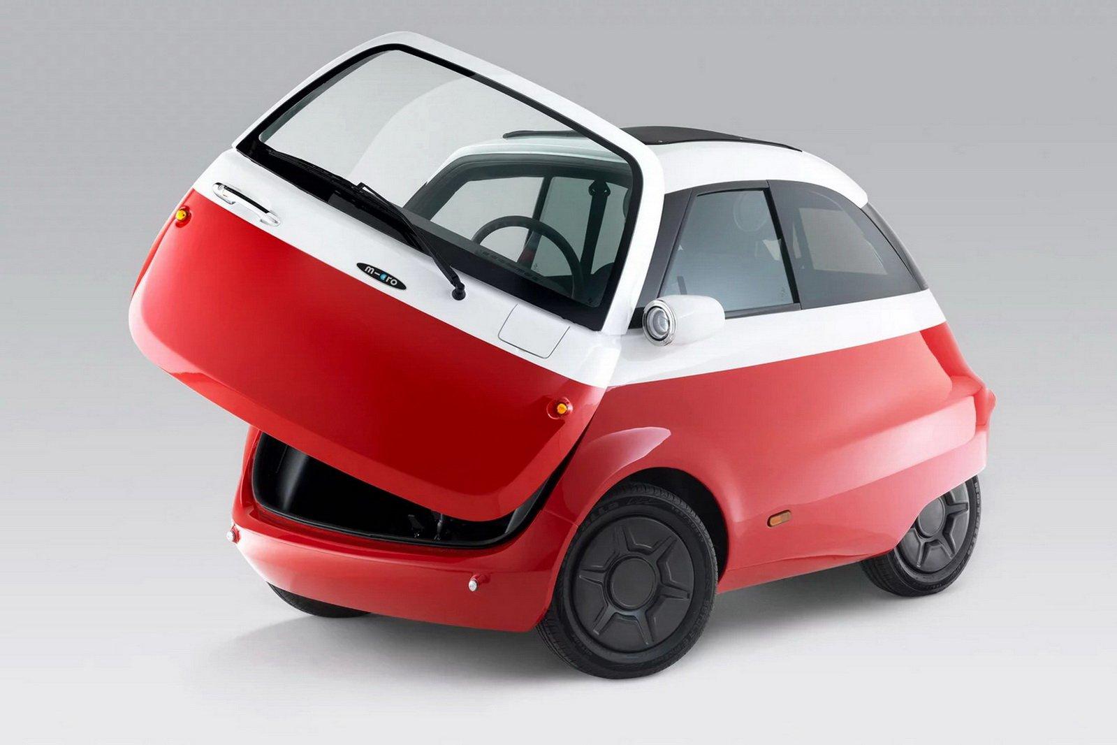خودرویی حبابی با الهام از ایستای بامو