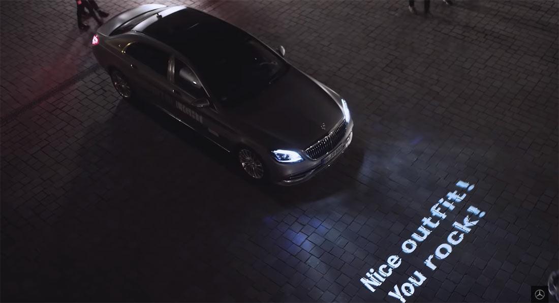 نیازی به گفتو گو نیست/ چراغهای جدید مرسدس به جای شما صحبت میکنند