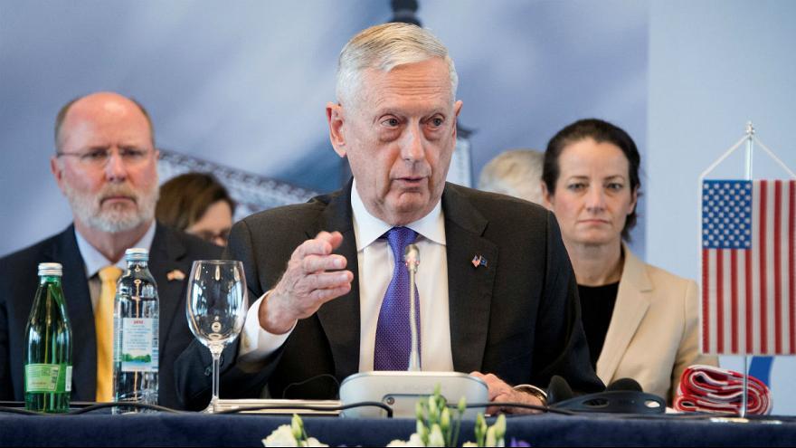 وزیر دفاع آمریکا: به دنبال تغییر رژیم یا فروپاشی ایران نیستیم